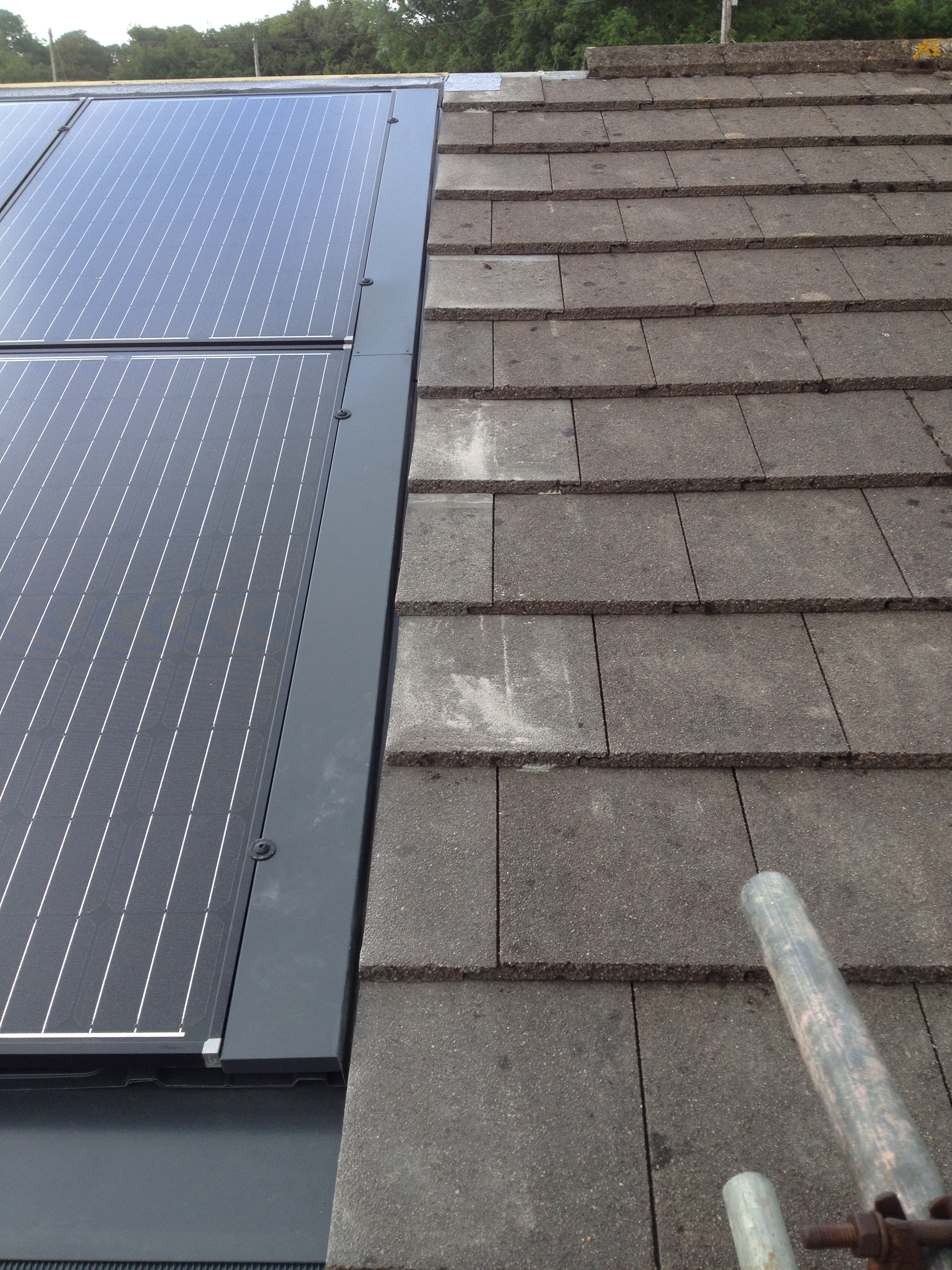 » Solarworld Sundeck On Tiled Roof