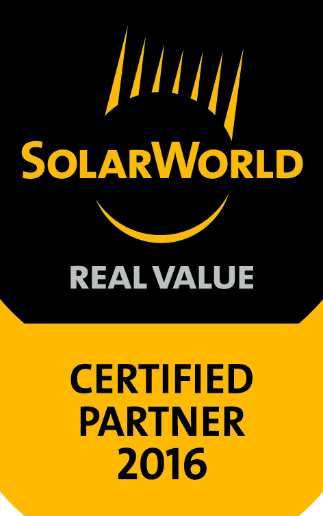 SolarWorld certified installer